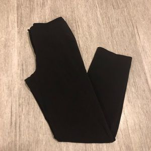 The limited work pants stretch size 4 black Rayon